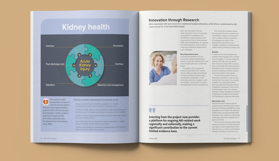 health research report design